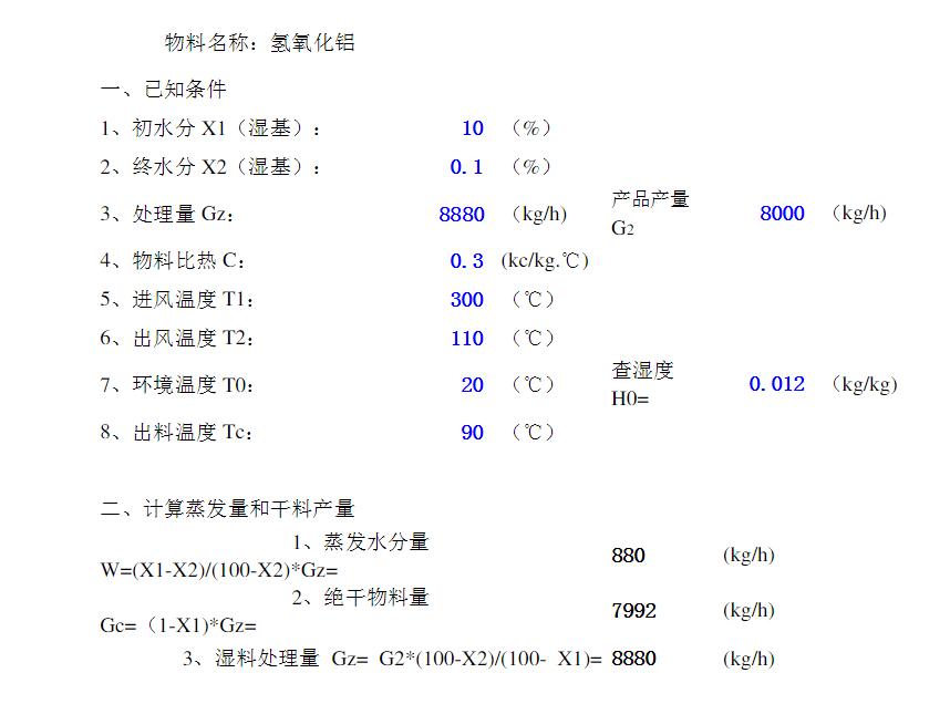 氢氧化铝闪蒸干燥机参数.png
